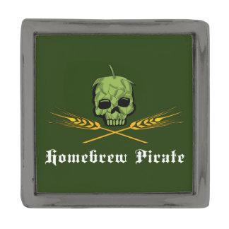 Homebrewの海賊 ガンメタルラペルピン