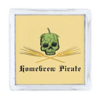 Homebrewの海賊 シルバー ラペルピン