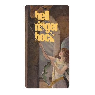 Homebrewingのビール瓶のラベルの天使の鐘桜 発送ラベル
