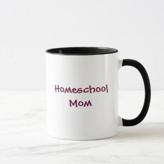Homeschoolのお母さん マグカップ