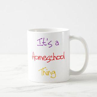 Homeschoolの事 コーヒーマグカップ