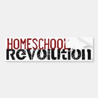 Homeschoolの改革のバンパーステッカー バンパーステッカー
