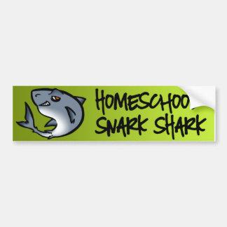 Homeschool Snarkの鮫 バンパーステッカー