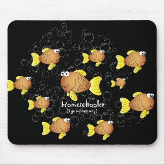 Homeschoolerの魚 マウスパッド