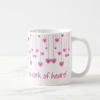 Homeschoolingはハートの仕事です! コーヒーマグカップ