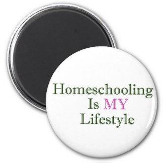 Homeschoolingは私のライフスタイルです マグネット