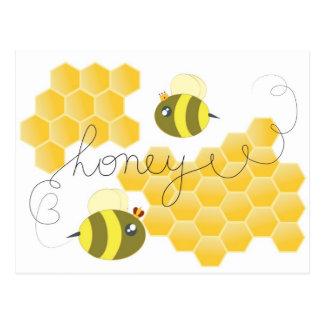 honey ポストカード