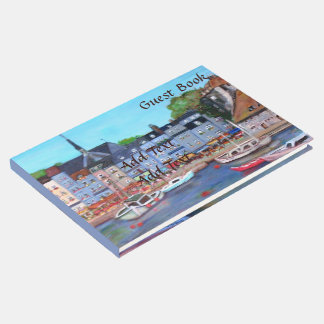 Honfleurの来客名簿 ゲストブック
