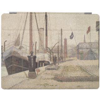 Honfleur 1886年のLaマリア iPadスマートカバー