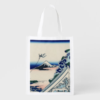 Honganjiの寺院からの日本のなヴィンテージの芸術富士 エコバッグ