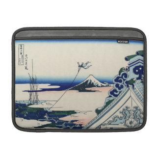 Honganjiの寺院からの日本のなヴィンテージの芸術富士 MacBook スリーブ