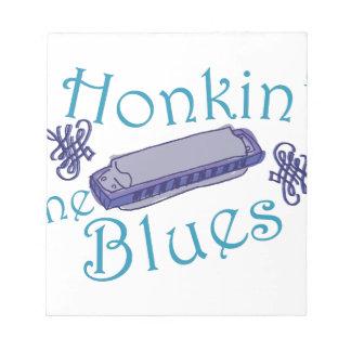 Honkin青 ノートパッド