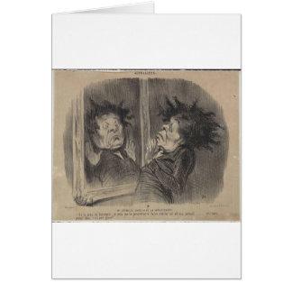 Honore Daumier著アドルフCremieux カード