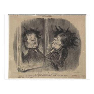 Honore Daumier著アドルフCremieux ポストカード
