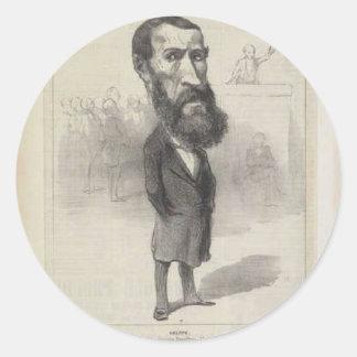 Honore Daumier著ジーンルイGreppo ラウンドシール