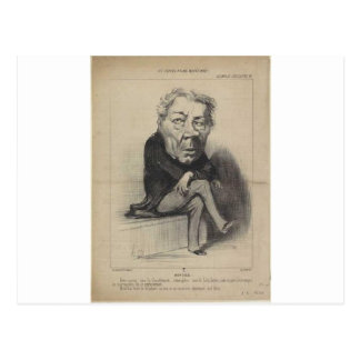 Honore Daumier著ジーンMarieヨセフDeville ポストカード