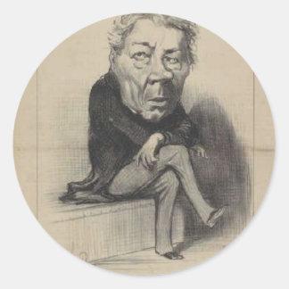 Honore Daumier著ジーンMarieヨセフDeville ラウンドシール