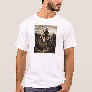 Honore Daumier -山のドン・キホーテ Tシャツ
