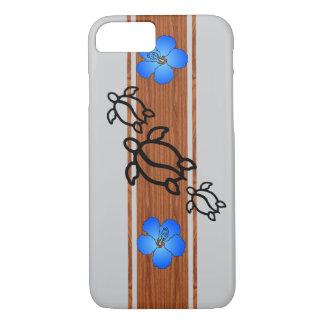 Honuのレトロのサーフボード iPhone 7ケース