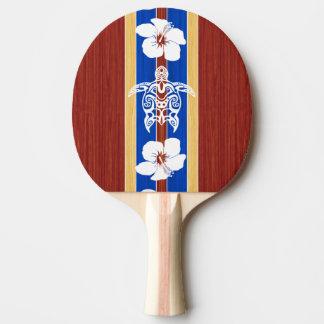 Honuの種族の擬似木製のサーフボード 卓球ラケット