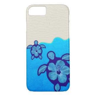 Honuの青いカメ iPhone 7ケース