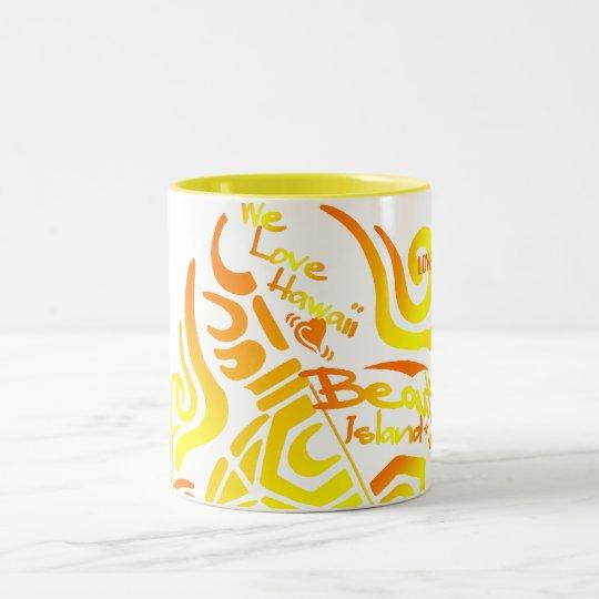 HONU(ウミガメ) ツートーンマグカップ