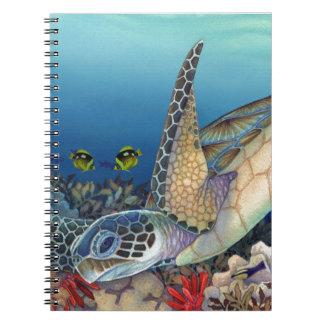 Honu (緑のウミガメ) ノートブック