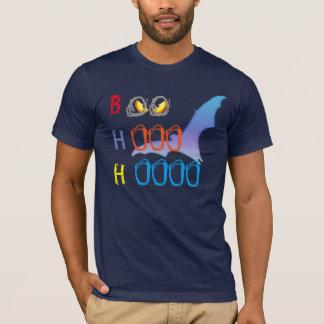 hooのhoo、おもしろいで気味悪いハロウィンのワイシャツのデザインに非難の声をあびせて下さい tシャツ