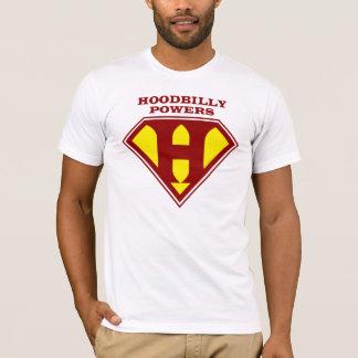 HoodBillyは#3に動力を与えます Tシャツ
