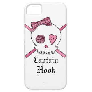 """""""Hook""""のかぎ針編みホックのスカルのiPhone 5の場合監督して下さい iPhone 5 カバー"""