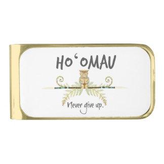 Ho'Omau Tiki ゴールド マネークリップ