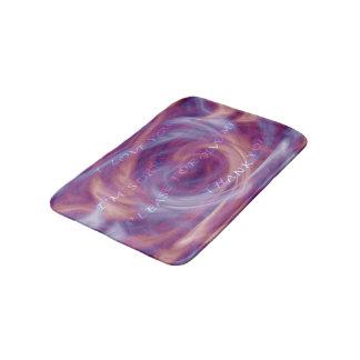 Ho'oponoponoの紫色の煙 バスマット
