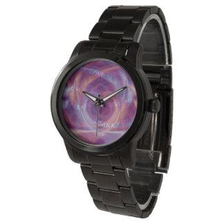 Ho'oponopono Purple Smoke 腕時計