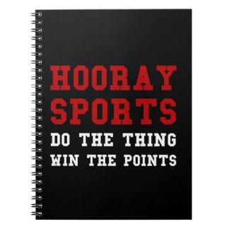Hoorayスポーツ ノートブック