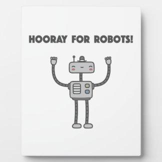 Hoorayロボットのために! フォトプラーク