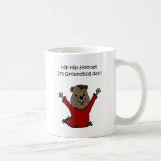 hooray白の聖燭節 コーヒーマグカップ