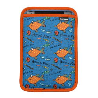 Hooray魚パターンのために iPad Miniスリーブ