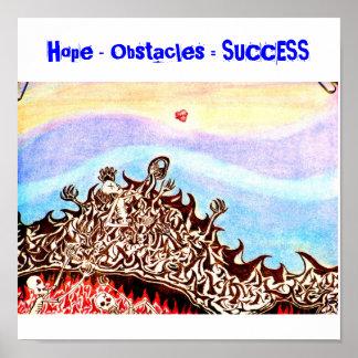 Hope2の希望-障害=成功 ポスター