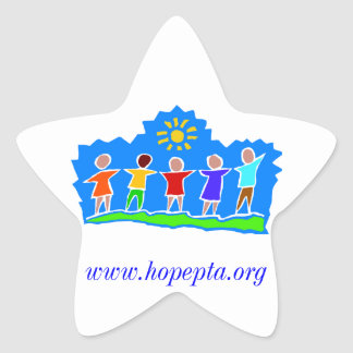 Hopewell基本的なPTAの星のステッカー 星シール