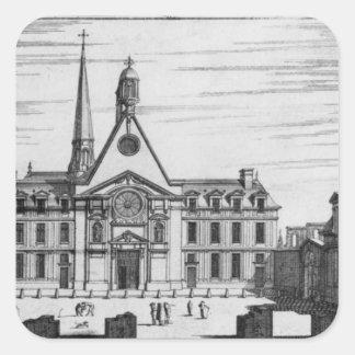 Hopital des Incurablesの眺め スクエアシール