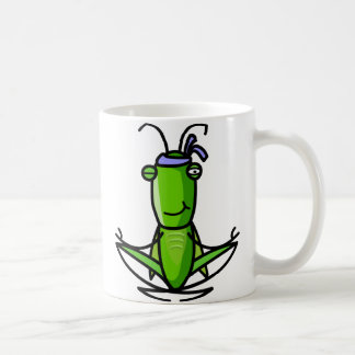 hopper_meditating_Mug コーヒーマグカップ