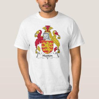 Hoptonの家紋 Tシャツ