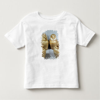Hor irオウム、Saite (アラバスター)のカノプス壺 トドラーTシャツ