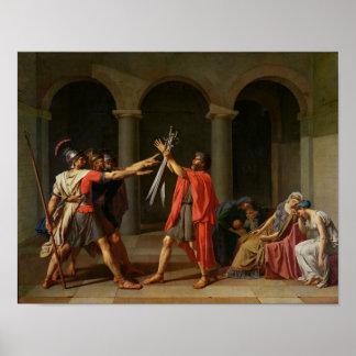 Horatii 1784年の宣誓 ポスター