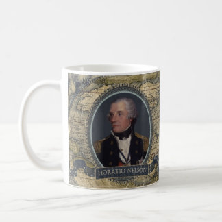 Horatioネルソンの歴史的マグ コーヒーマグカップ