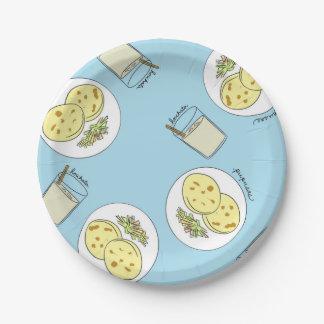 Horchata y Pupusasの紙皿 ペーパープレート