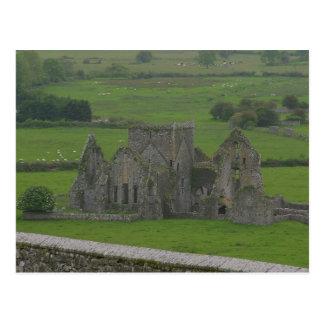 Horeの大修道院のアイルランドの郵便はがき ポストカード