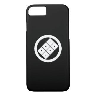 Horio家族のための傾けられた6 squrae目 iPhone 8/7ケース