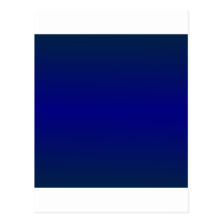 HorizontalBlue2オックスフォードの青および濃紺の勾配 ポストカード