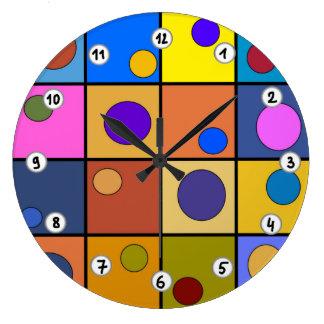 Horloge murale ronde Fantaisie ラージ壁時計